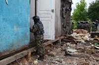 В Плеханово продолжается снос незаконных цыганских построек, Фото: 33