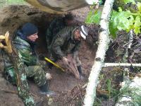 В Тульской области в лесу поисковики нашли захоронение артиллеристов и лошадей, Фото: 8