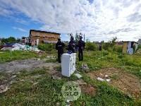 В Плеханово вновь сносят незаконные дома цыган, Фото: 4