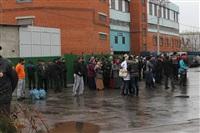 В ходе зачистки на Центральном рынке Тулы задержаны 350 человек, Фото: 3