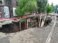 Очередной провал дороги в Мясново, Фото: 8