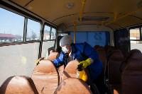 Как в Туле дезинфицируют маршрутки и автобусы, Фото: 33