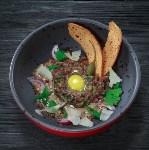 Тартар из говядины на перечном соусе, Фото: 32