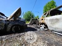 Цыганский конфликт в Туле: ночью подожжены четыре автомобиля, Фото: 3