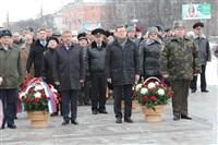 Возложение цветов к памятнику на площади Победы. 21 февраля 2014, Фото: 3