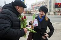 Пролетарский глава Сергей Шестаков поднял тулячкам настроение, Фото: 10
