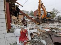 Снос незаконных павильонов в Заречье, Фото: 39