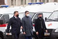 Алексей Дюмин передал региональному Центру медицины катастроф 39 новых автомобилей, Фото: 11