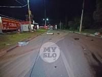 Крупное ДТП на ул. Металлургов в Туле: Nissan снес столб, пассажирку вышвырнуло из машины, Фото: 19