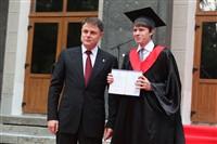 Владимир Груздев поздравил выпускников магистратуры ТулГУ, Фото: 37