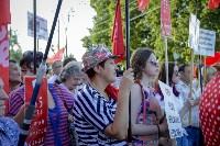 Митинг против пенсионной реформы в Баташевском саду, Фото: 33