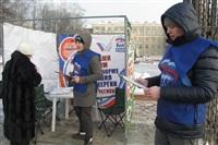Пикет «Единой России» в поддержку увеличения соцнормы на электроэнергию, Фото: 5