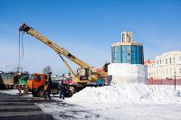 Огромный снеговик на Казанской набережной, Фото: 4