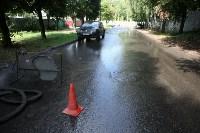 Коммунальная авария на ул. Тульского рабочего полка, Фото: 2