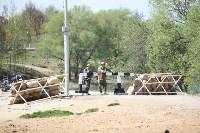 Реконструкция боевых действий. Центральный парк. 9 мая 2015 года, Фото: 13
