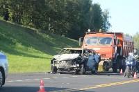 В жутком ДТП на М2 под Тулой сгорели три авто: двое погибли, Фото: 6