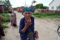 В Плеханово начали сносить дома в цыганском таборе, Фото: 162