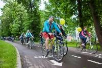 В Туле прошел большой велопарад, Фото: 76