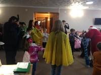 Для детей украинских переселенцев организовали новогоднюю праздничную программу, Фото: 6