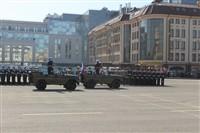 Военный парад в Туле, Фото: 12