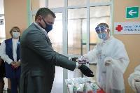 Алексей Дюмин проголосовал по поправкам в Конституцию, Фото: 3