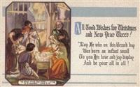 Старинные рождественские открытки, Фото: 32