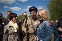 В Центральном парке воссоздали боевой подвиг советских солдат, Фото: 76