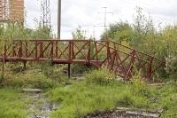 Мост в березовой роще., Фото: 5
