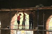Владимир Груздев проинспектировал ремонт бассейна на улице Гоголевской. 8 июля 2015, Фото: 10