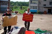 Ни одного человека мы не оставим без поддержки, - Владимир Груздев, Фото: 10