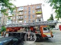 Пожар на ул. Шухова в Туле, Фото: 11