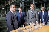 В Туле министр промышленности и торговли РФ  осмотрел  стройплощадку ООО «Тулачермет-Сталь», Фото: 13