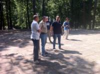 Евгений Авилов и тульские блогеры в Ленинском районе, Фото: 1