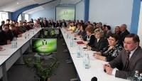Алексей Дюмин посетил Узловский молочный комбинат, Фото: 16
