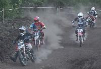 Юные мотоциклисты соревновались в мотокроссе в Новомосковске, Фото: 121