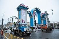 Установка новогодней арки, Фото: 8