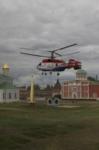 Установка шпиля на колокольню Тульского кремля, Фото: 2