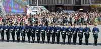 Развод караулов Президентского полка на площади Ленина. День России-2016, Фото: 70