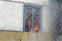 Пожар в жилом бараке, Щекино. 23 января 2014, Фото: 5