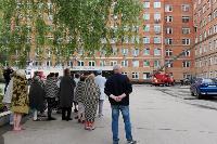 Учения МЧС: В Тульской областной больнице из-за пожара эвакуировали больных и персонал, Фото: 29