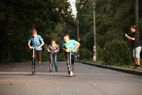 Туляки «погоняли» на самокатах в Центральном парке, Фото: 30