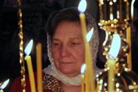 Пасхальная служба в Успенском соборе. 20.04.2014, Фото: 5