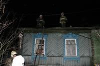 В поселке Октябрьский сгорел дом., Фото: 13