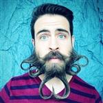 Креативные бороды Исайи Уэбба, Фото: 1