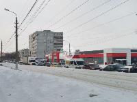 Улица Металлургов в Туле встала в пробке из-за ДТП с автобусом, Фото: 1