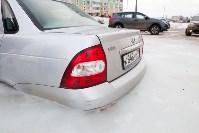 Машина вмерзла в лед, Фото: 10