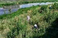 Экологический отряд привел в порядок территорию Прощеного колодца, Фото: 1