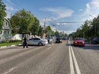 В Туле на ул. Октябрьской водитель автобуса устроил массовое ДТП, Фото: 9