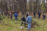 Высадка деревьев в Рогожинском парке, Фото: 13