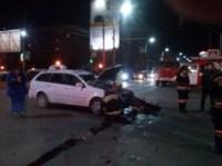 Авария на перекрестке Ложевая-Степанова. 11.11.2014, Фото: 2
